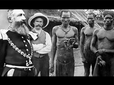 Le procès fictif de Léopold II pour génocide et crimes contre l'Humanité.