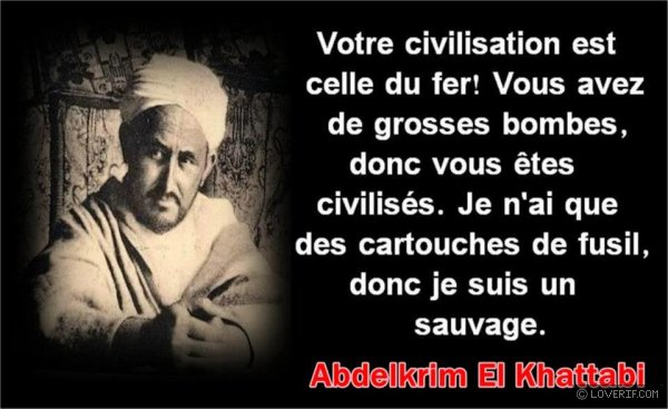 Lettre aux Nations civilisées !