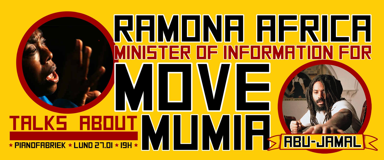 Mumia Abu-Jamal, MOVE et les prisoniers politiques aux états-unis.