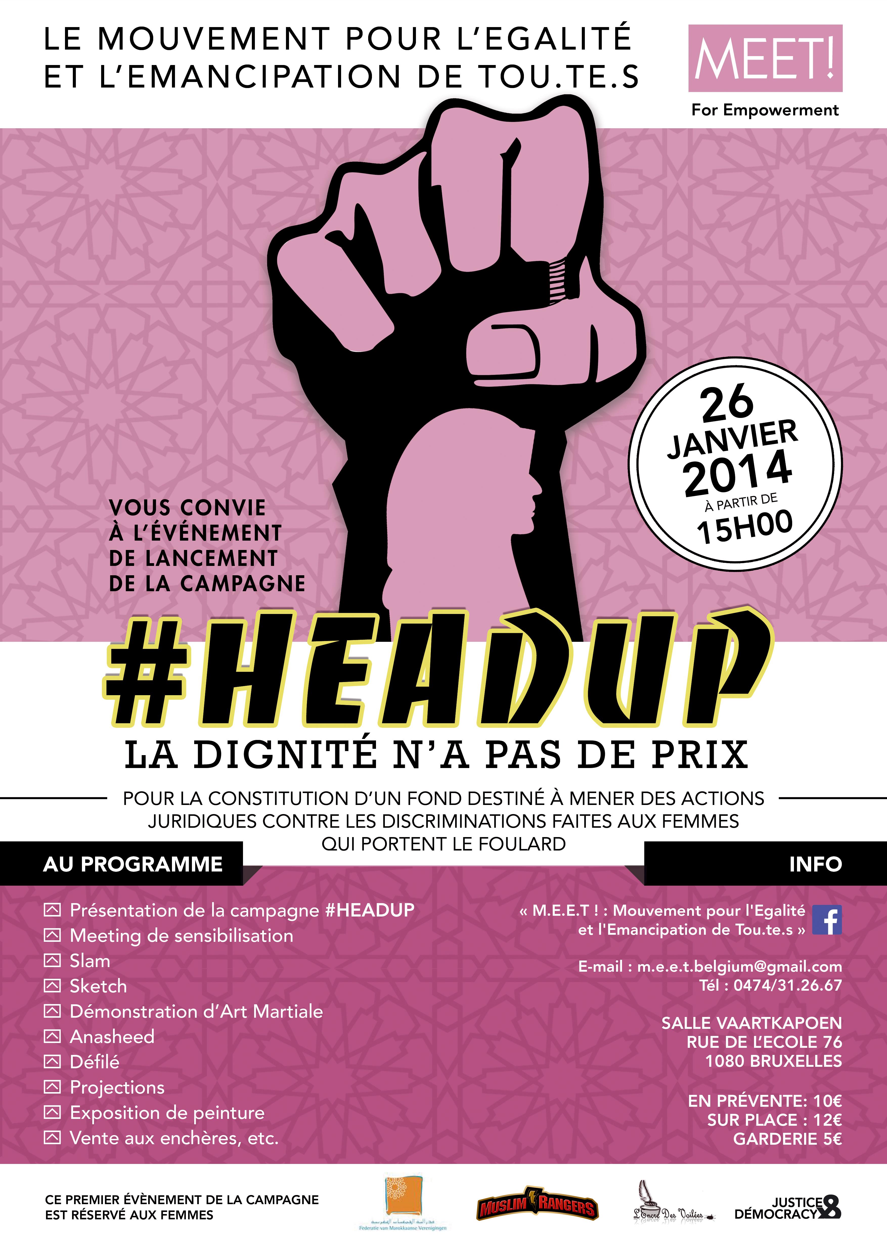 #HEADUP , la Dignité n'a pas de prix !