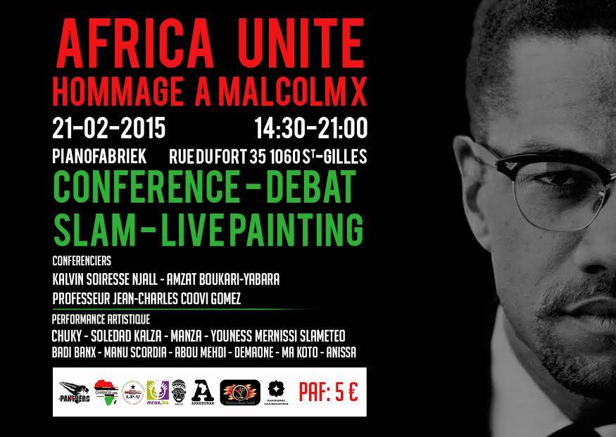 Africa Unite ! Hommage à Malcolm X