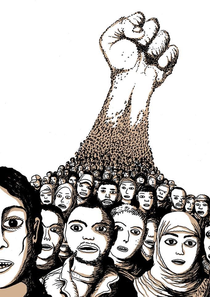 Tribune d'Angela Davis pour la Marche de la Dignité