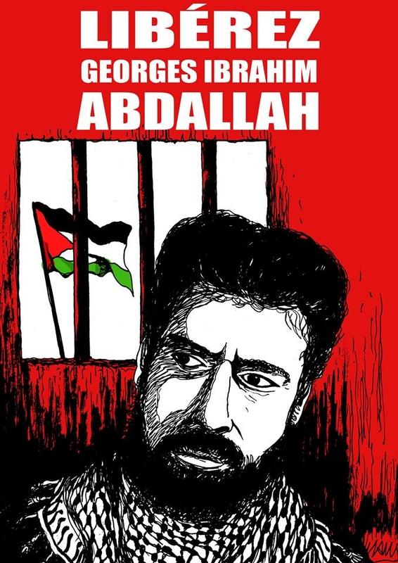 Signez, vous aussi, l'Appel belge pour la libération immédiate de Georges Ibrahim Abdellah