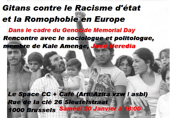 Gitans contre le Racisme d'état et la Romophobie en Europe