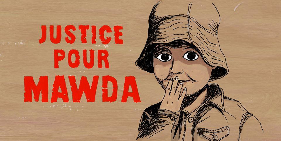 Hommage à Mawda et soutien à sa famille.