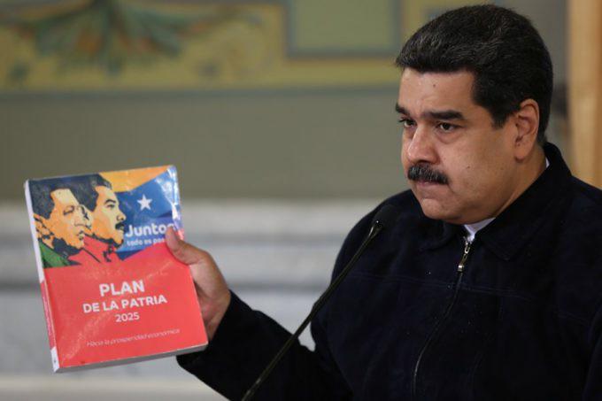Le Président Vénézuelien Maduro a annoncé la création de l'Institut National pour la Décolonisation.