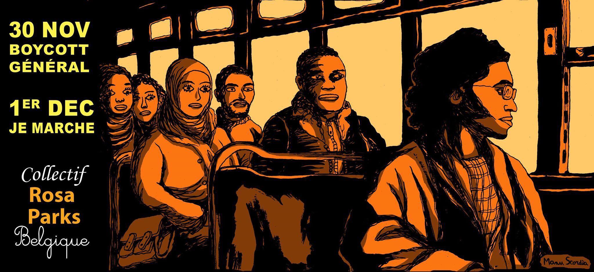 Collectif Rosa Parks Belgique – Avec nous ou rien